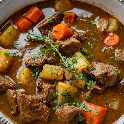 Miss Ellie's Savory Beef Stew